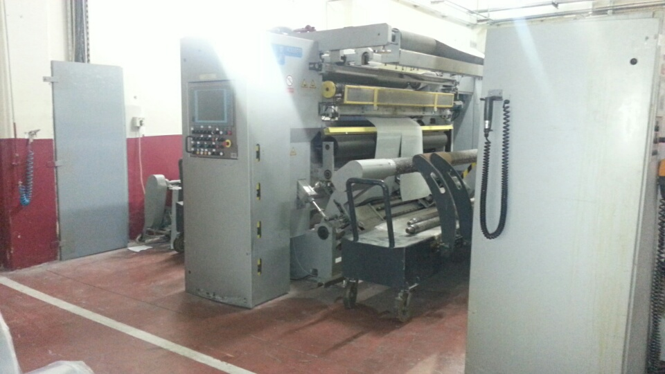 Slitter/Rewinder Kampf UNICON 22-100; Kom MR04
